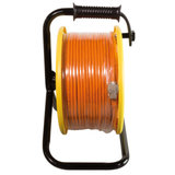 Huur 90 meter shielded Cat7A kabel op haspel_