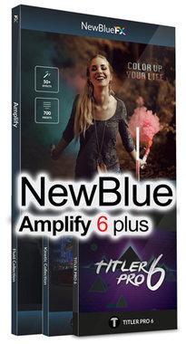 NewBlue Amplify 6 Plus voor Edius 9