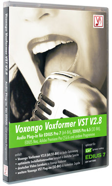 Voxengo Voxformer VST V2.10 o.a. voor EDIUS