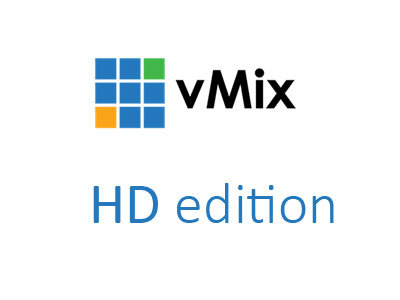 vMix HD upgrade vanaf Basic HD