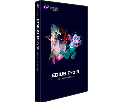 EDIUS Workgroup 9 Jump Upgrade van EDIUS 2-7 en Edius PRO 8